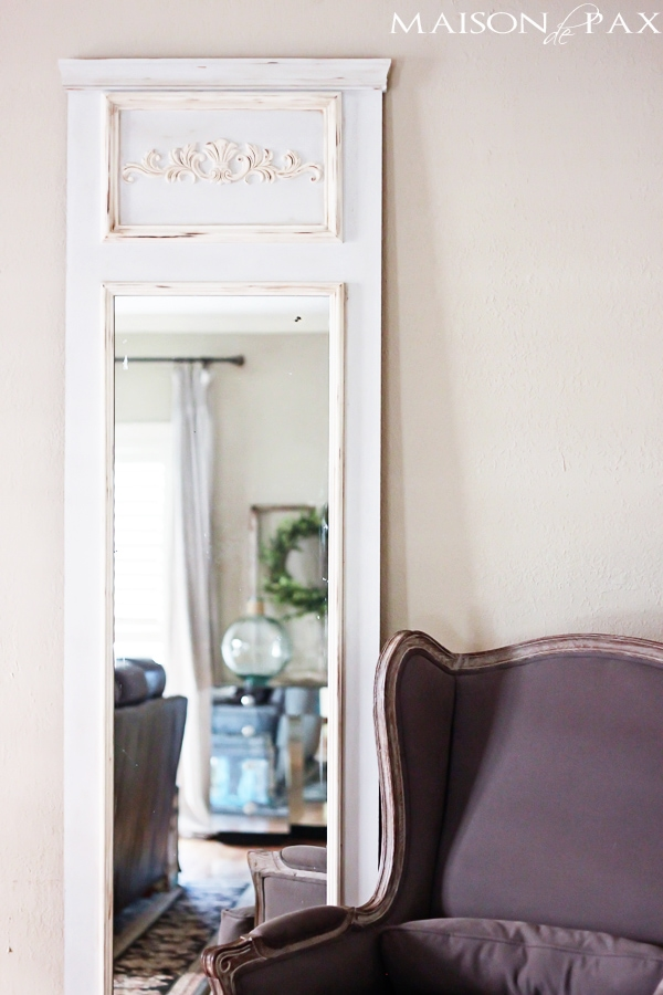 Tutorial to create a French Vintage mirror- Maison de Pax