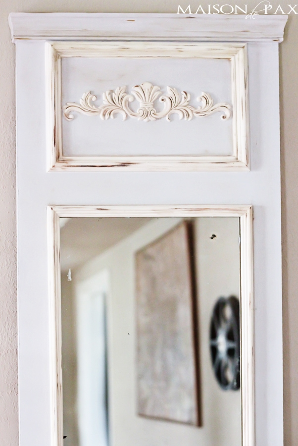 DIY French Vintage Mirror- Maison de Pax