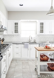 Source List for Classic White Kitchen