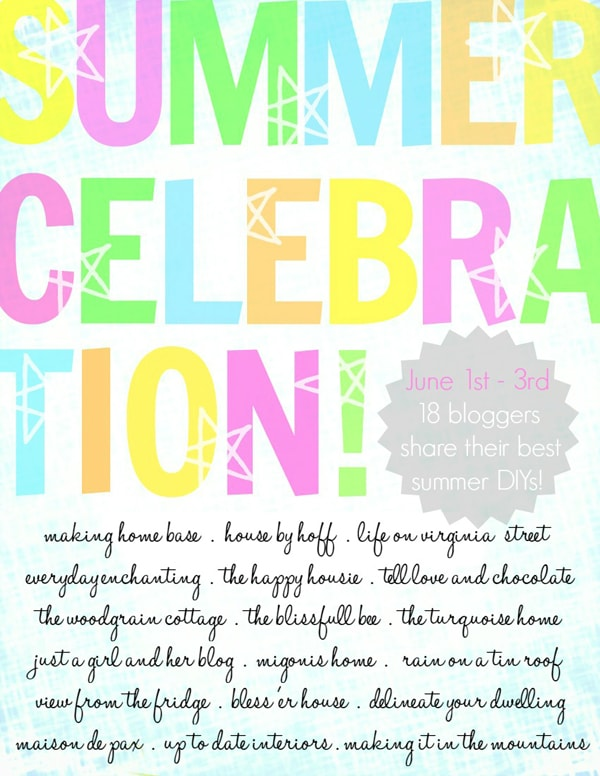 Summer Celebration Graphic with bloggers - Maison de Pax
