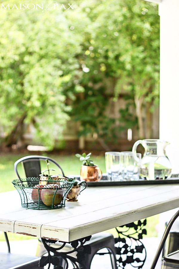 Gorgeous summer home tour full of seasonal decorating ideas - Maison de Pax