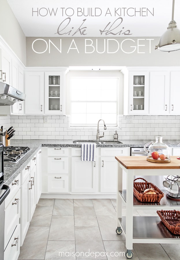 awesome budgeting tips for kitchen renovations- Maison de Pax