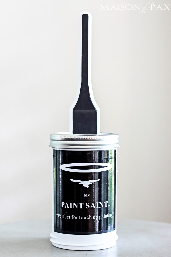Hate touching up paint? Find out the easiest way EVER to do the job in no time! Plus enter to win... maisondepax.com
