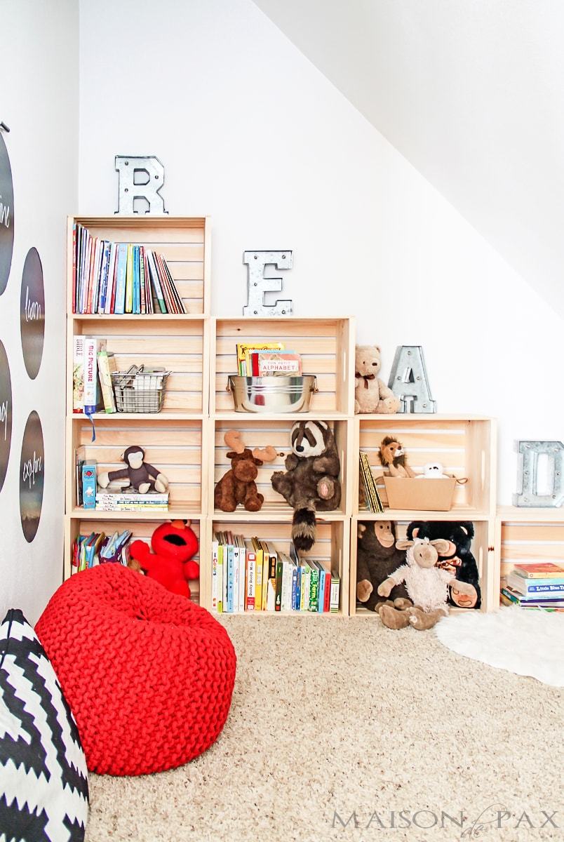 Adorable reading and play room for kid- Maison de Pax