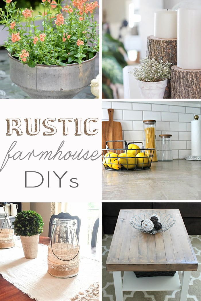 Rustic Farmhouse DIY Projects
