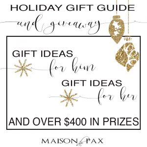 Holiday Gift Guide (and HUGE Giveaway)