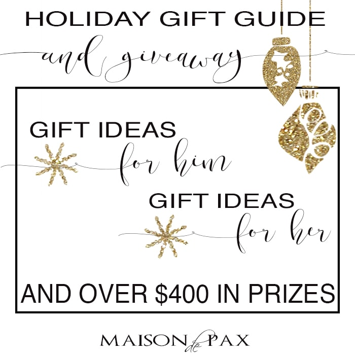 The Ultimate gift guide for him and for her - Maison de Pax