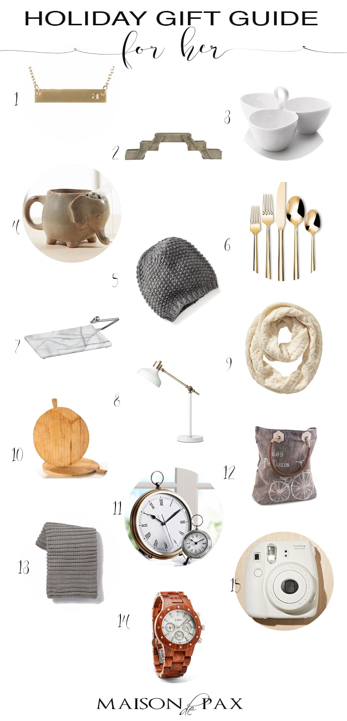 Holiday Gift Guide for Her- Maison de Pax