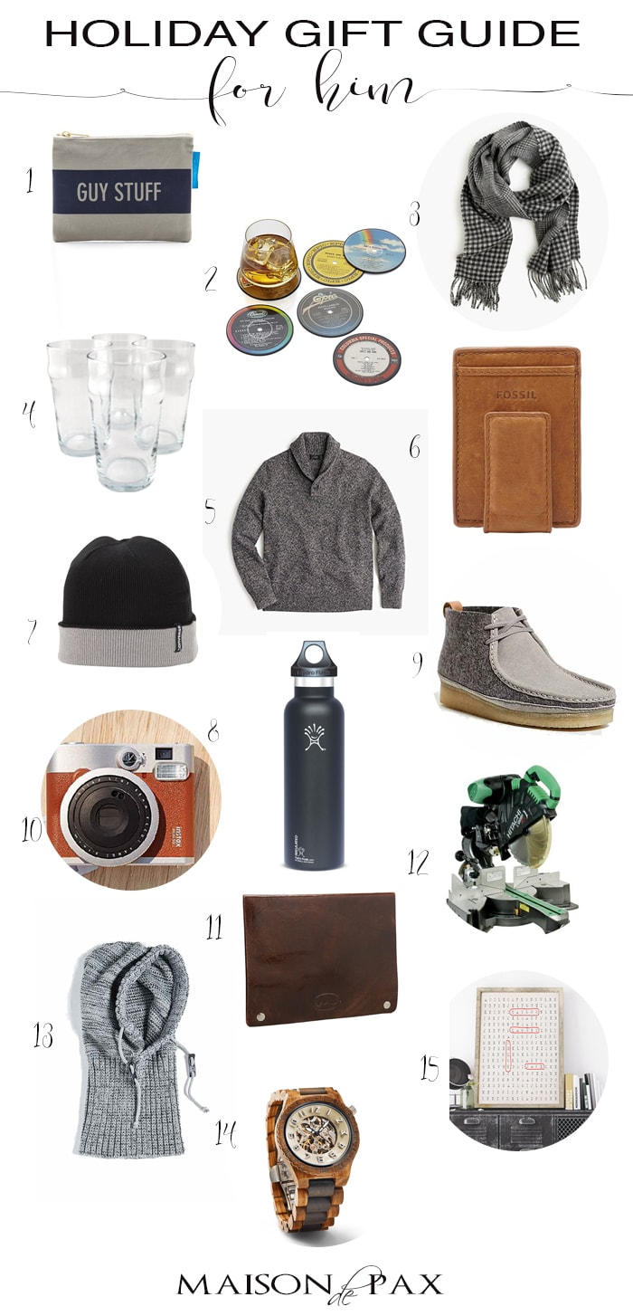 Holiday Gift Guide for Him- Maison de Pax