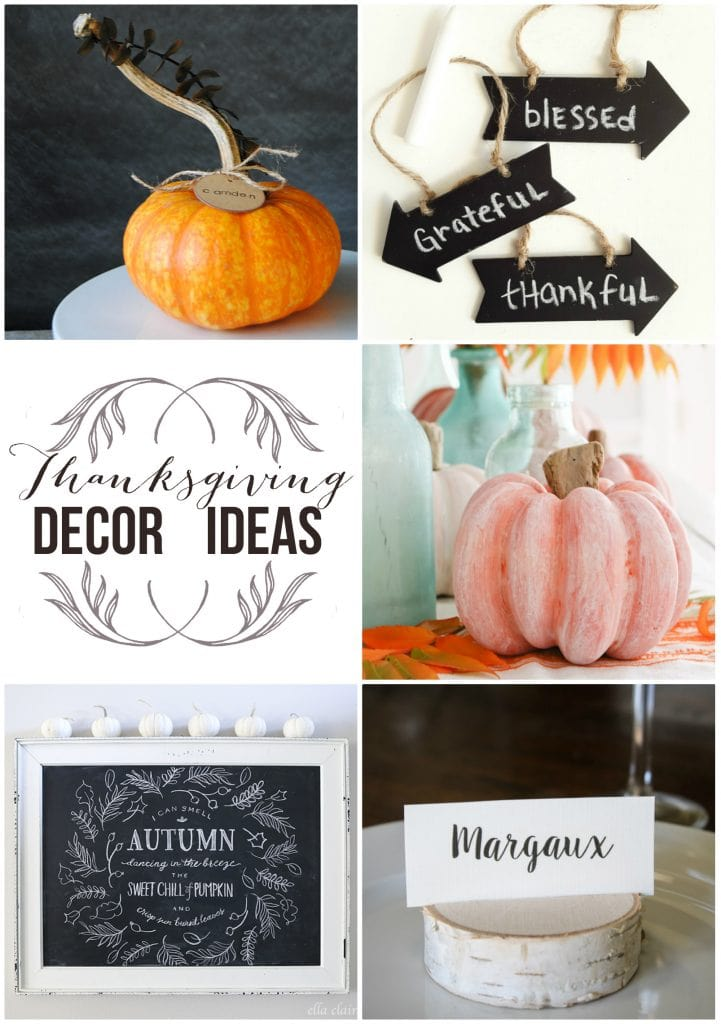 Thanksgiving Decor Ideas Maison De Pax