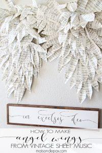 Sheet Music Angel Wings