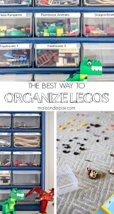 The Best Way to Organize Legos