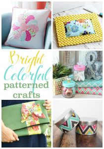 Bright and Colorful Patterned Crafts