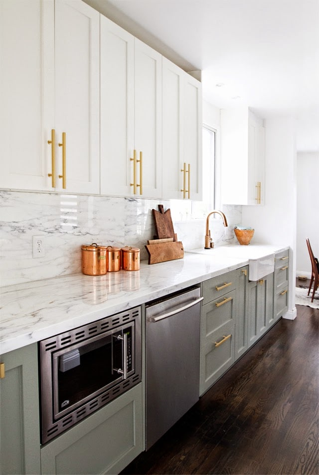 20 Gorgeous Gray And White Kitchens Maison De Pax