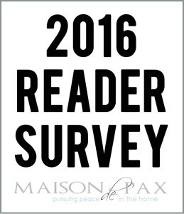 Reader Survey (+ Giveaway)