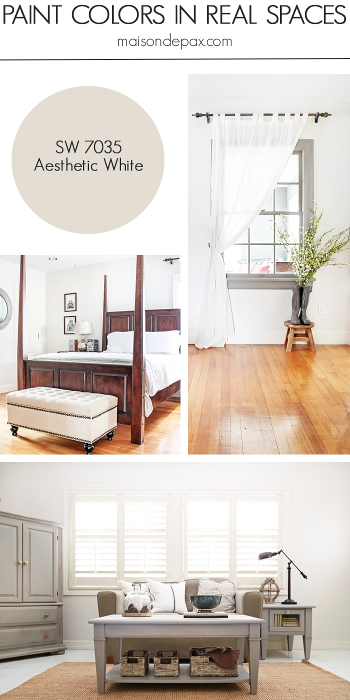 Aesthetic White (SW 7035) by Sherwin Williams- Maison de Pax