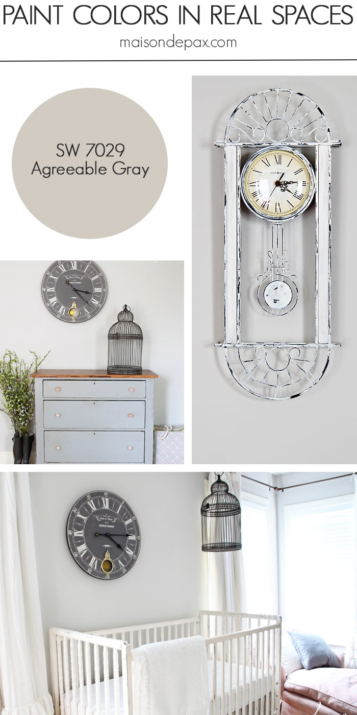 Agreeable Gray (SW 7029) by Sherwin Williams- Maison de Pax