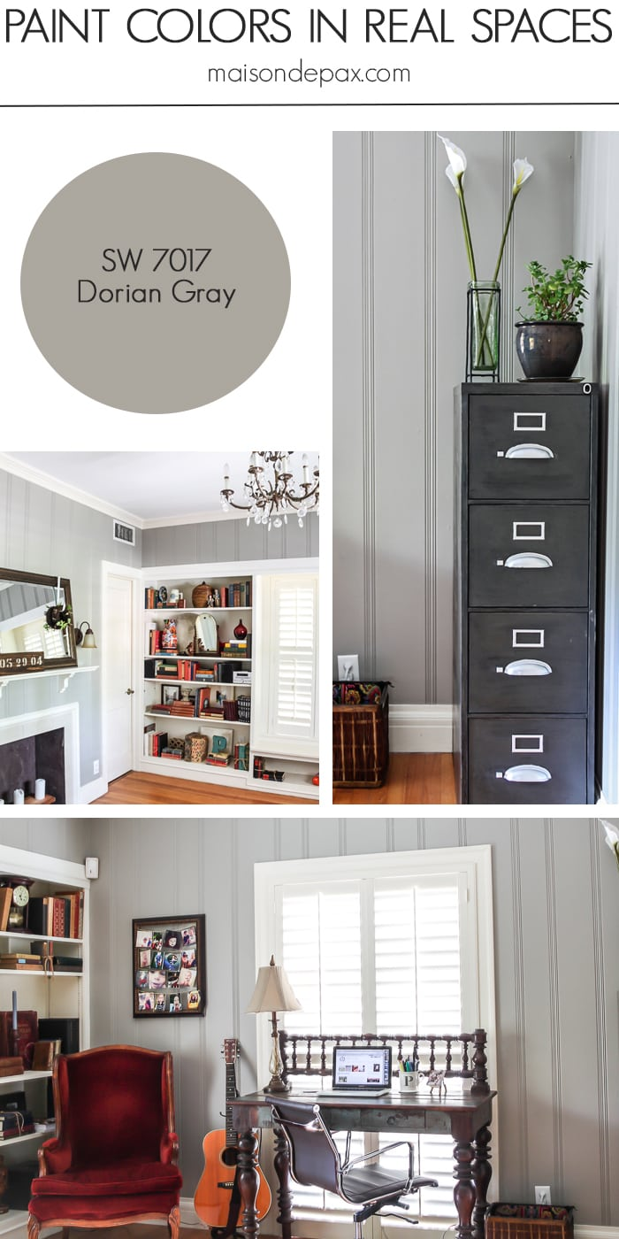 Dorian Gray (SW 7017) by Sherwin Williams - Maison de Pax
