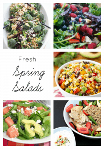 Delicious fresh spring salad recipes | maisondepax.com