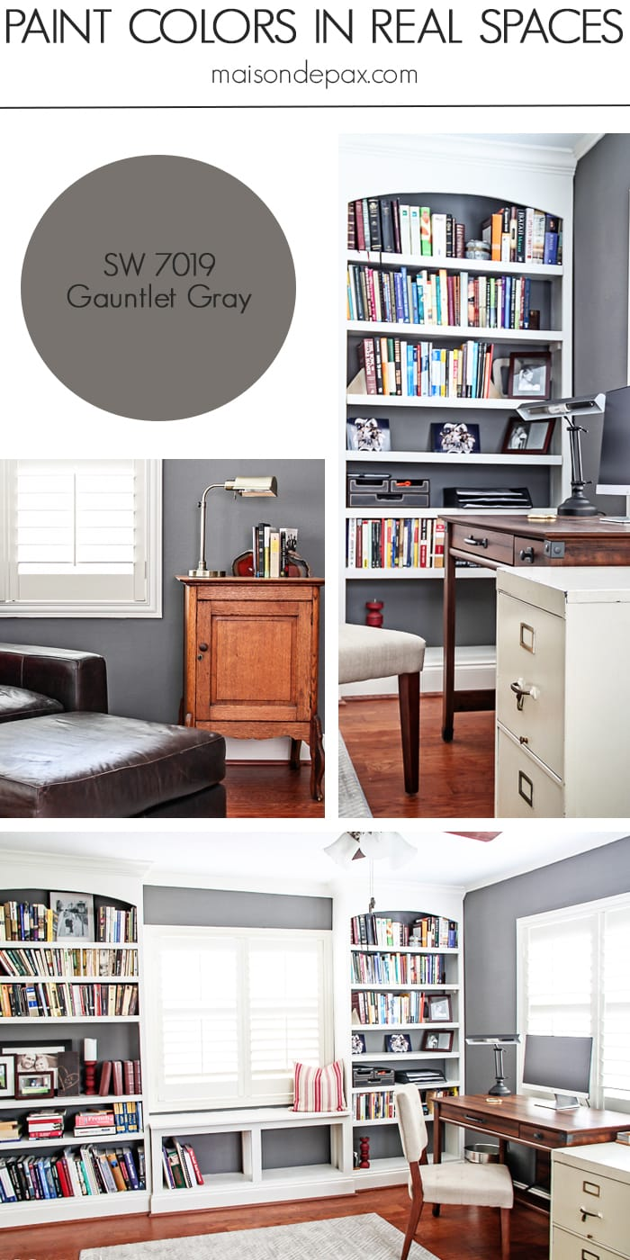 Gauntlet Gray (SW 7019) by Sherwin Williams - Maison de Pax
