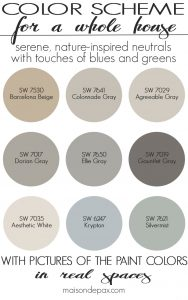 Paint Color Home Tour: Nature-Inspired Neutrals