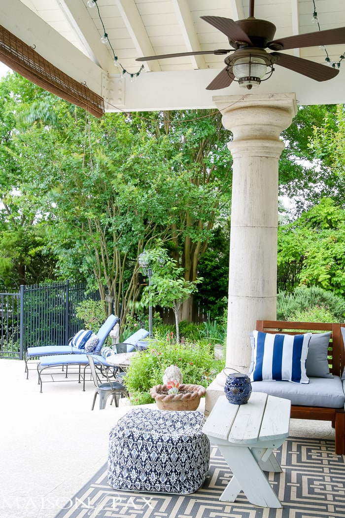 5 steps to getting your patio ready for summer   maisondepax.com