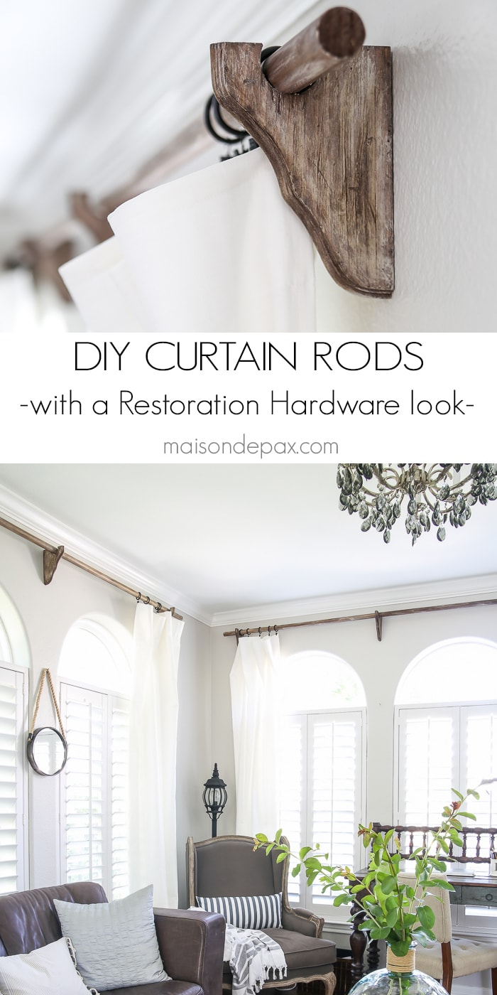 Restoration Hardware Curtain Rods Curtain Menzilperde Net