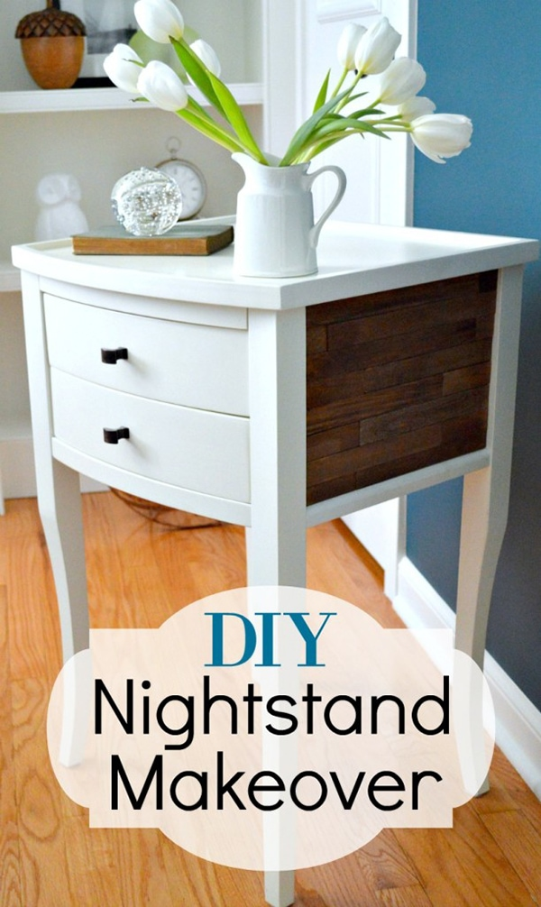 Rustic Nightstand Makeover | Chatfield Court