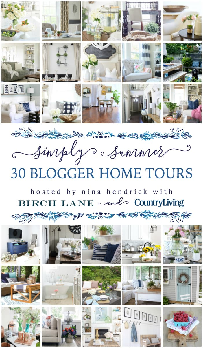 30 gorgeous blogger summer home tours: decorating ideas for summer home decor- Maison de Pax