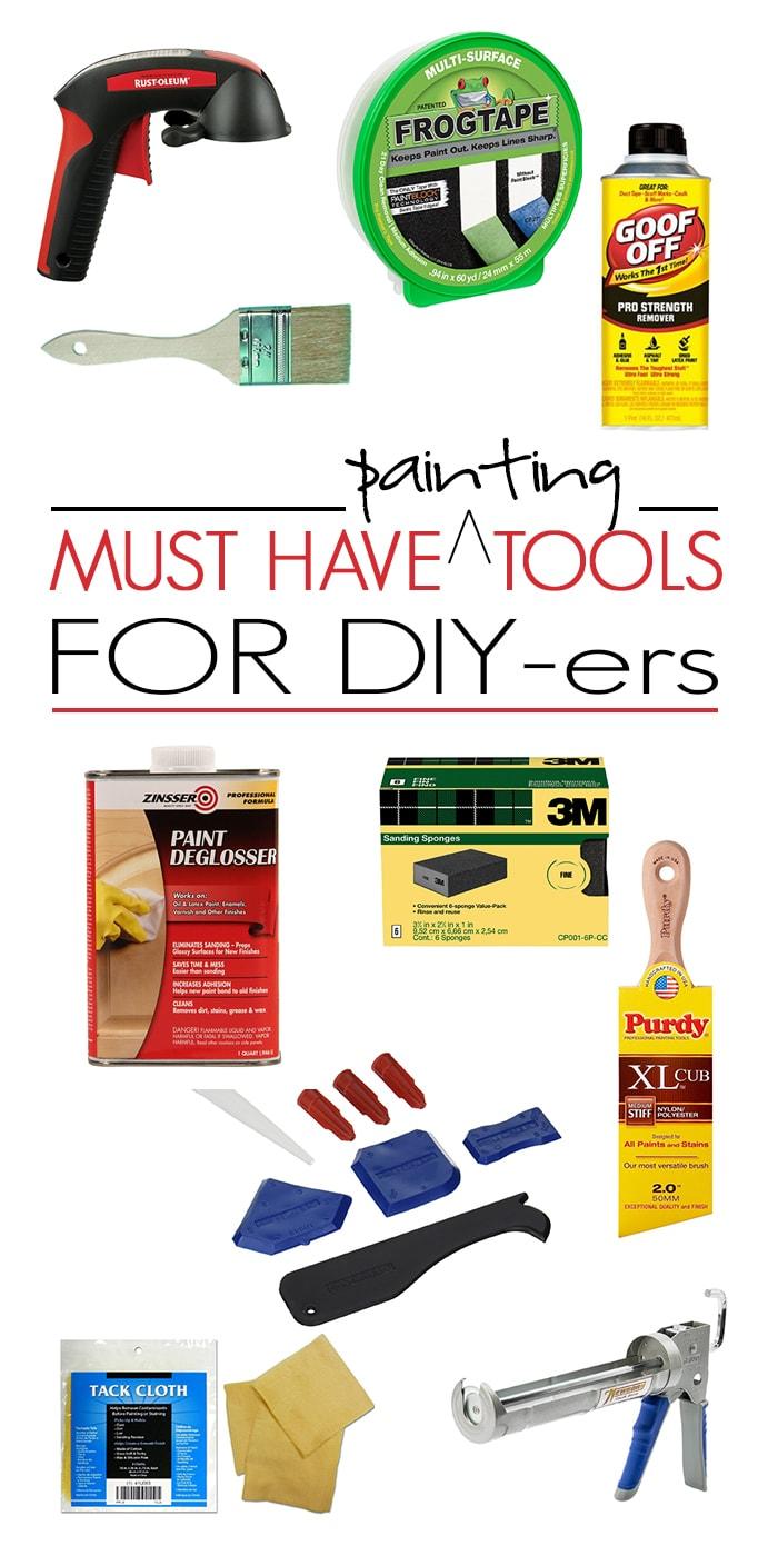 Best Tools for DIY Painting - Maison de Pax