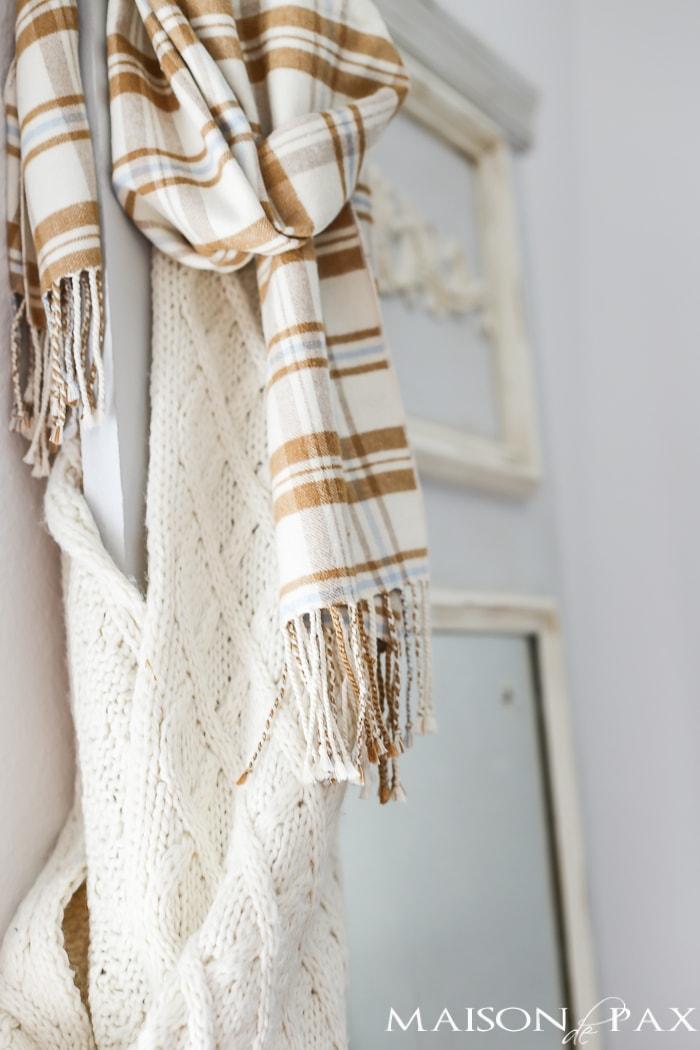 Fall scarf- Maison de Pax