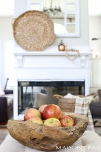 Neutral Easy Fall Decorations and Home Tour
