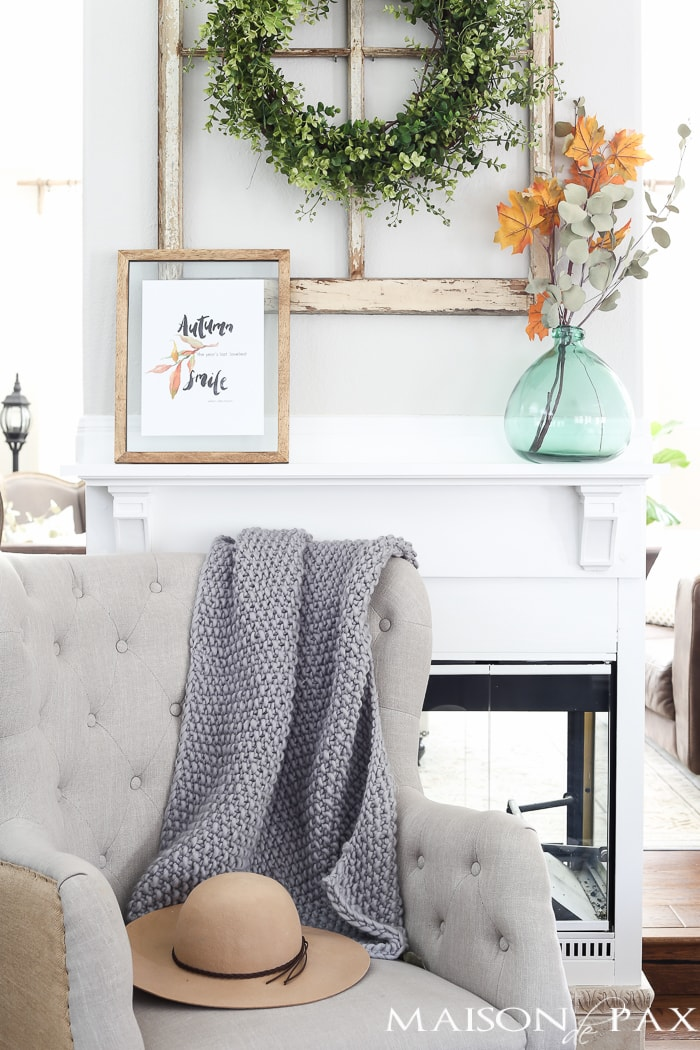 Easy Fall Decor- Maison de Pax