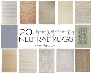 20 Gorgeous Neutral Rugs