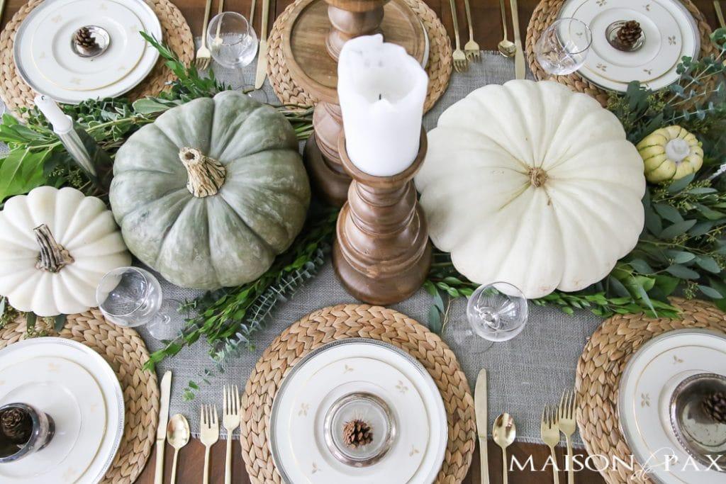 Thanksgiving table decor-Maison de Pax
