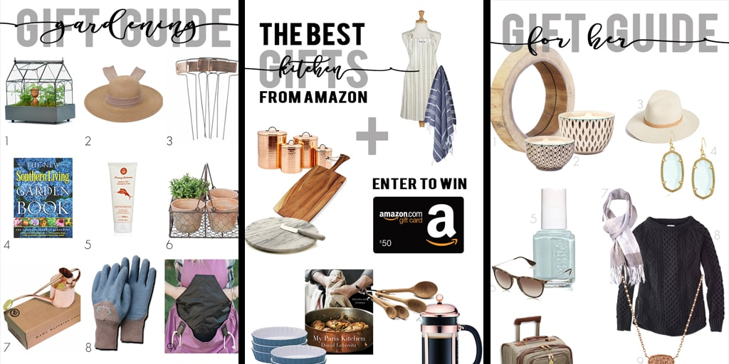 Get your Christmas shopping done early this year! Three amazing gift guides plus for awesome prizes you can enter to win...