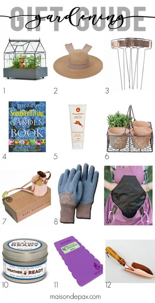 Gardening Gift Guide- Maison de Pax
