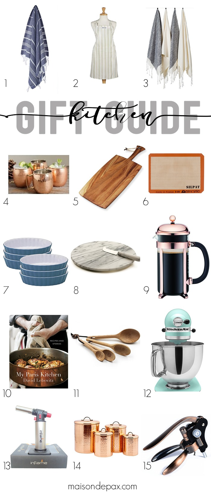 The Best Kitchen Gift Guide - Maison de Pax