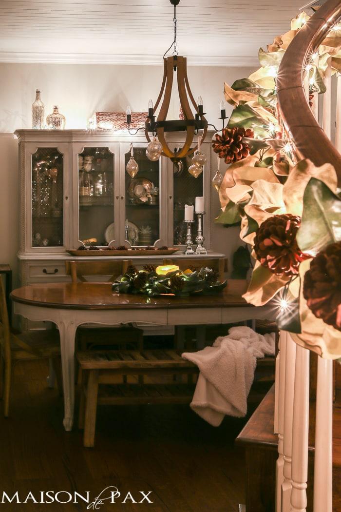 Christmas dining room- Maison de Pax