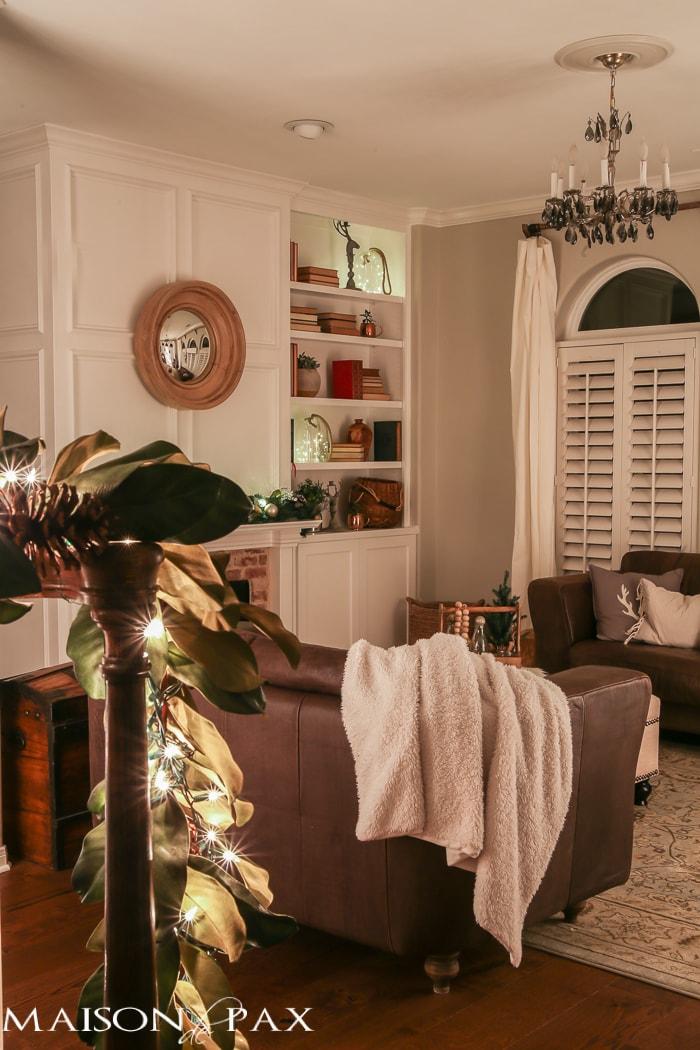 Christmas living room- Maison de Pax