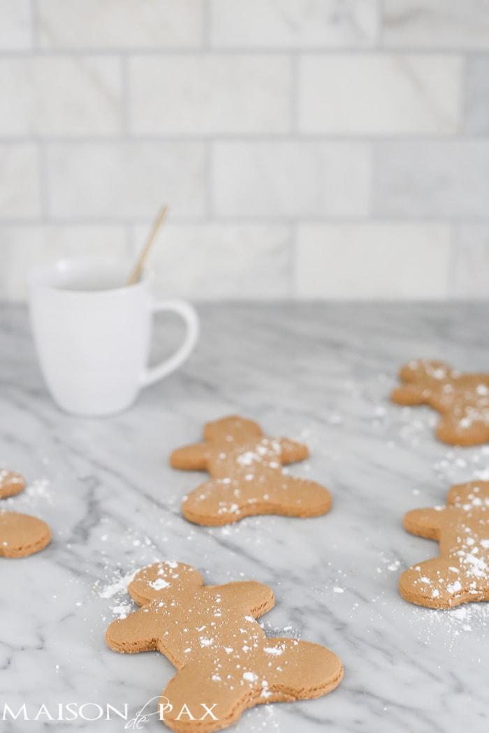 Christmas gingerbread cookies- Maison de Pax