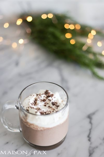 Easy, Decadent Hot Chocolate