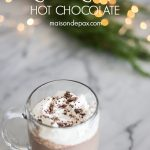 Delicious and SO EASY decadent hot chocolate: just a few minutes on the stovetop and you've got wonderfully creamy drinking chocolate to enjoy.