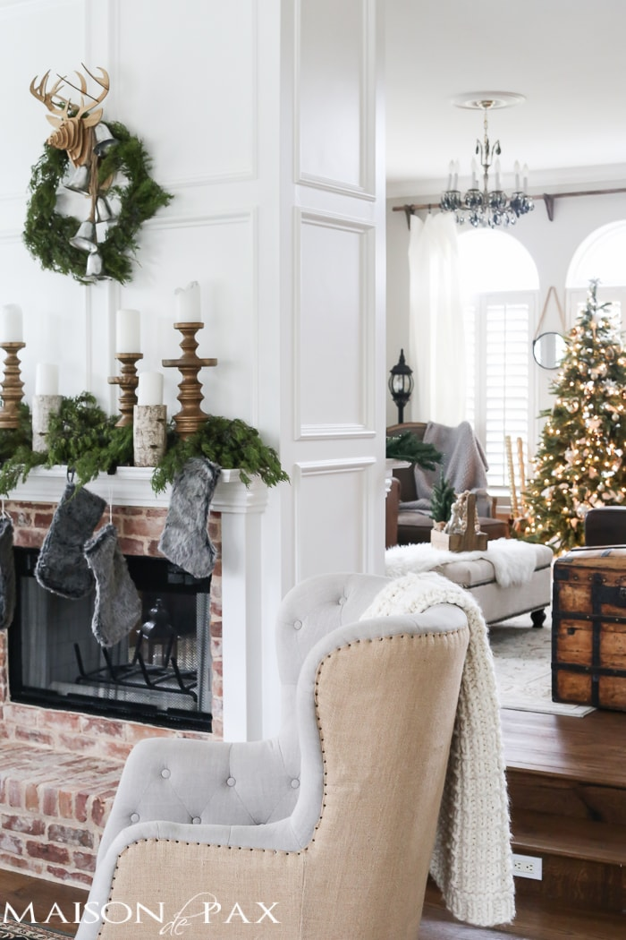 Green And White Christmas Decorating Ideas