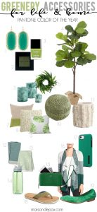Using Greenery in your Home and Life (Pantone's Color of the Year)