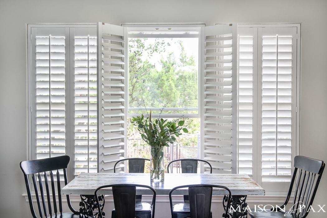 classic dining room area- Maison de Pax