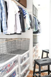 10 Tips for Organizing Kids' Closets