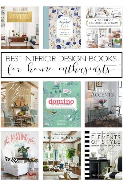 The best interior design books for home enthusiasts: accessible, helpful tips and loads of inspiration to help you create a beautiful space and home.