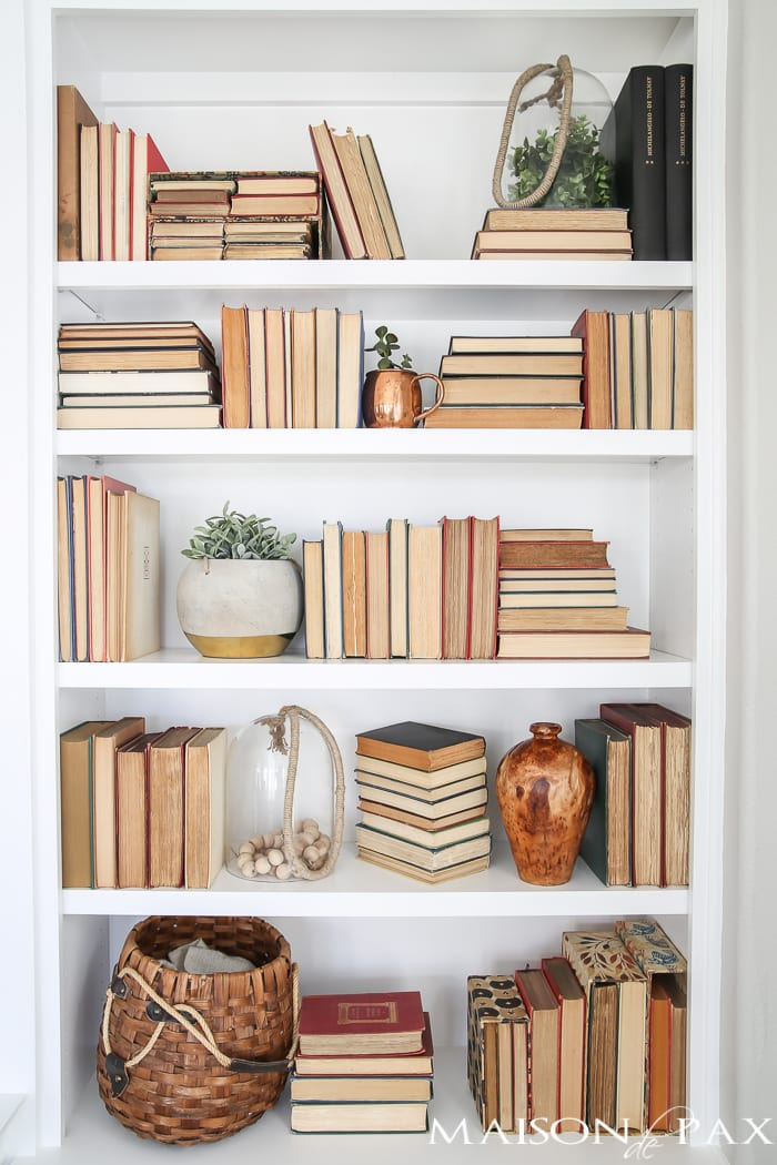Tips For Styling Bookcases Maison De Pax