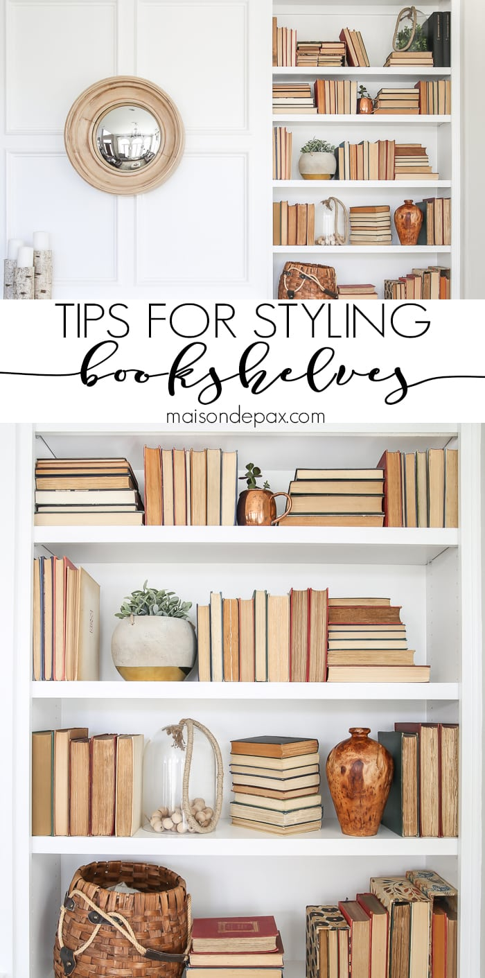 Bookshelf Styling Ideas Maison De Pax